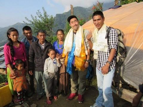 なすびネパール支援